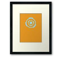 Energie Shield Framed Print