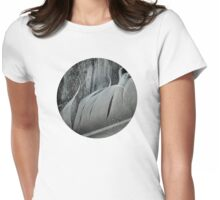 Windblown Feather Womens Fitted T-Shirt
