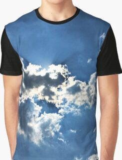 Sun and Clouds Graphic T-Shirt