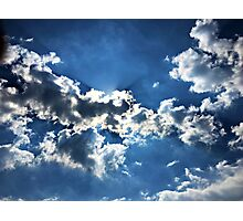 Sun and Clouds Photographic Print