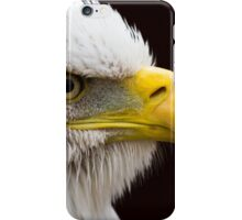 Portrait of a Bald Eagle iPhone Case/Skin
