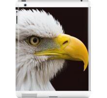 Portrait of a Bald Eagle iPad Case/Skin