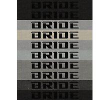 BRIDE BRIDE BRIDE Photographic Print