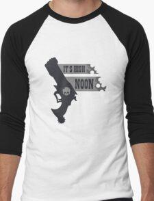 Its High Noon  Men's Baseball ¾ T-Shirt