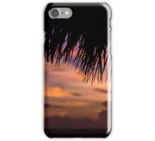 Sunrise over the beach in Cayo Coco iPhone Case/Skin