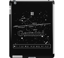 Gemini Star-Chart iPad Case/Skin