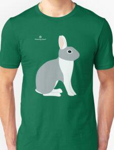 Lilac White Eared Rabbit T-Shirt