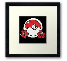 Pokemon Moon Framed Print
