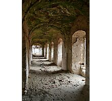 Monastery passage Photographic Print