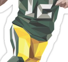 Aaron Rodgers Low Poly Art Sticker