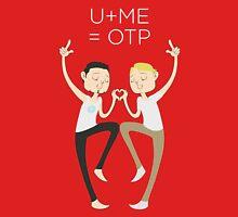 U+ME=OTP TONYxSTEVE Womens Fitted T-Shirt