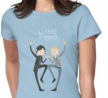 U+ME=OTP JOHNLOCK Womens Fitted T-Shirt