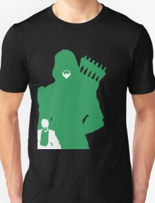 Green Arrow Silhouette Unisex T-Shirt