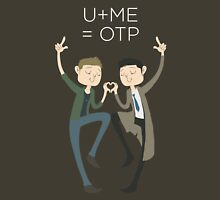 U+ME=OTP DESTIEL Womens Fitted T-Shirt