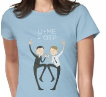 U+ME=OTP MORMOR Womens Fitted T-Shirt