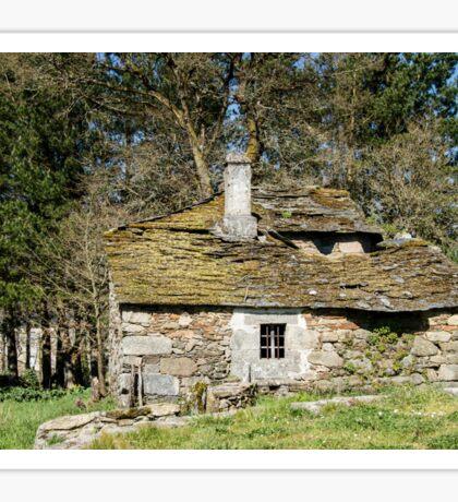 Forgotten historic home Sticker