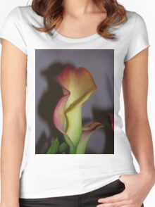 Indoor Canna Lily Women's Fitted Scoop T-Shirt