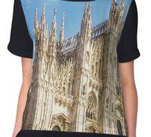 Il Duomo Milan Italy Chiffon Top
