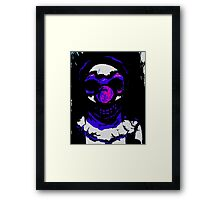scared silly Framed Print