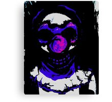 scared silly Canvas Print