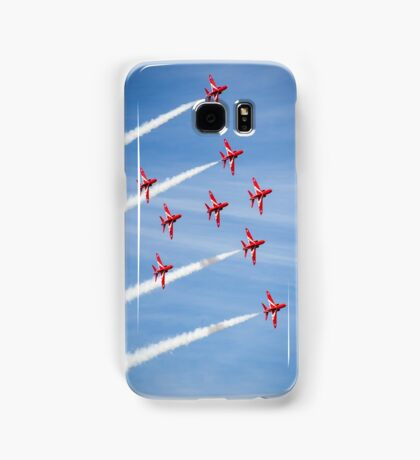 Red Arrows at the Southport airshow. Samsung Galaxy Case/Skin