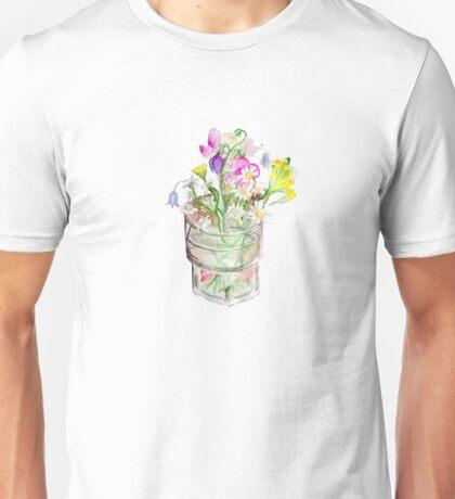 Still life: Flowers in glass Unisex T-Shirt