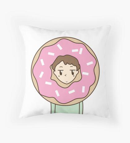 I Doughnut know Throw Pillow