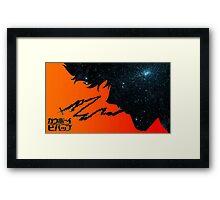 COWBOY BEBOP - Spike Framed Print