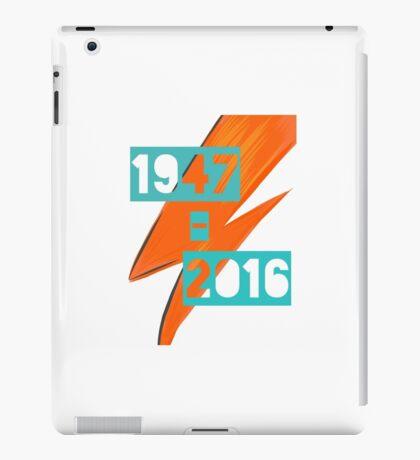 David Bowie - Ziggy stardust tribute iPad Case/Skin