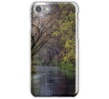 Rainy day on the Feeder Canal iPhone Case/Skin