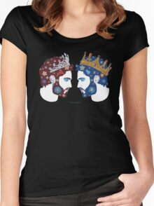 """Mirror, mirror on the wall, who is the fairest queen of them all"" Women's Fitted Scoop T-Shirt"