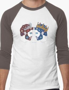 """Mirror, mirror on the wall, who is the fairest queen of them all"" Men's Baseball ¾ T-Shirt"