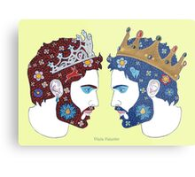 """Mirror, mirror on the wall, who is the fairest queen of them all"" Metal Print"