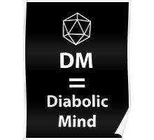 Dungeon Master = Diabolic Mind  Poster
