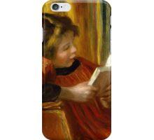 Auguste Renoir - Girl Reading . 1890 Auguste Renoir  iPhone Case/Skin