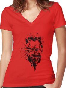 Big Boss  Women's Fitted V-Neck T-Shirt