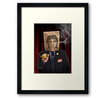 Donald J. Trump - Presidentially Quirky Framed Print