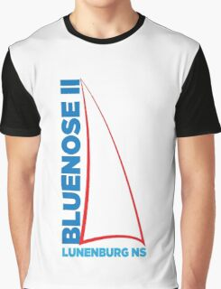 Bluenose II Lunenburg NS Graphic T-Shirt