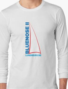 Bluenose II Lunenburg NS Long Sleeve T-Shirt