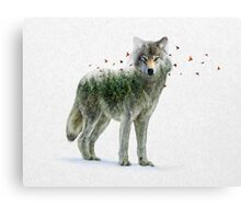 Wild I Shall Stay | Wolf Canvas Print