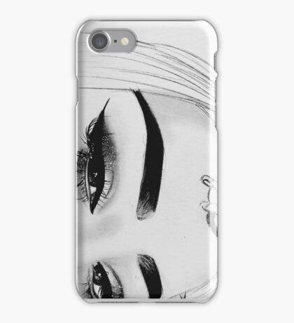 Girl Portrait Phone Case iPhone Case/Skin