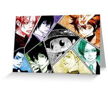 Vongola Family Greeting Card