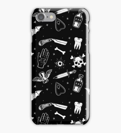 A Few of My Macabre Things iPhone Case/Skin