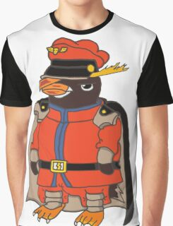 F. Penguin - AnimaFighter Graphic T-Shirt