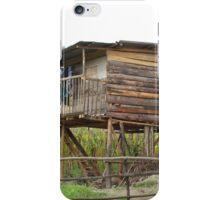 House on Stilts iPhone Case/Skin