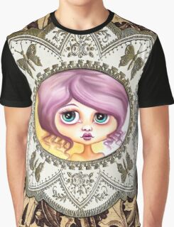 Little Lilac - Purple Hair Pastel Goth Girl Graphic T-Shirt
