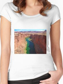 Marble Canyon Women's Fitted Scoop T-Shirt