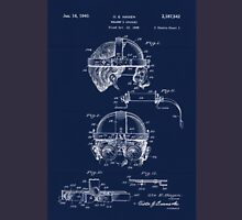 Antique Welders Goggles blueprint drawing Unisex T-Shirt