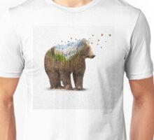 Wild I Shall Stay   Bear Unisex T-Shirt