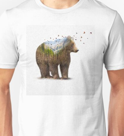 Wild I Shall Stay | Bear Unisex T-Shirt